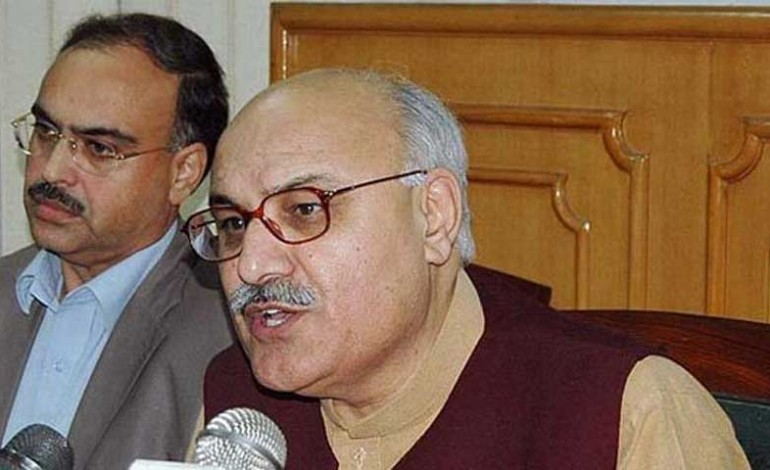 Awami National Party (ANP) central general secretary Mian Iftikhar Hussain was arrested on Sunday after the killing of a Pakistan Tehreek-i-Insaf (PTI) activist in Pabbi area of Khyber Pakhtunkhwa's Nowshera district.