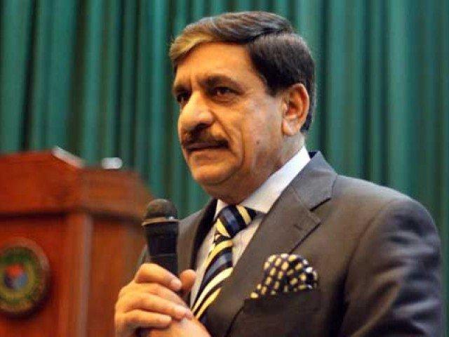 Pakistan's National Security Adviser Lieutenant-General (R) Naseer Khan Janjua Janjua