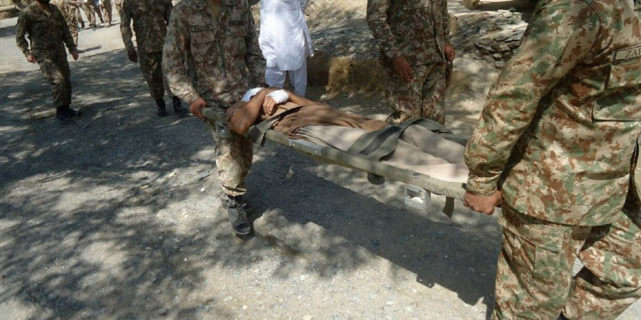 Chitral rain victims rescued by army