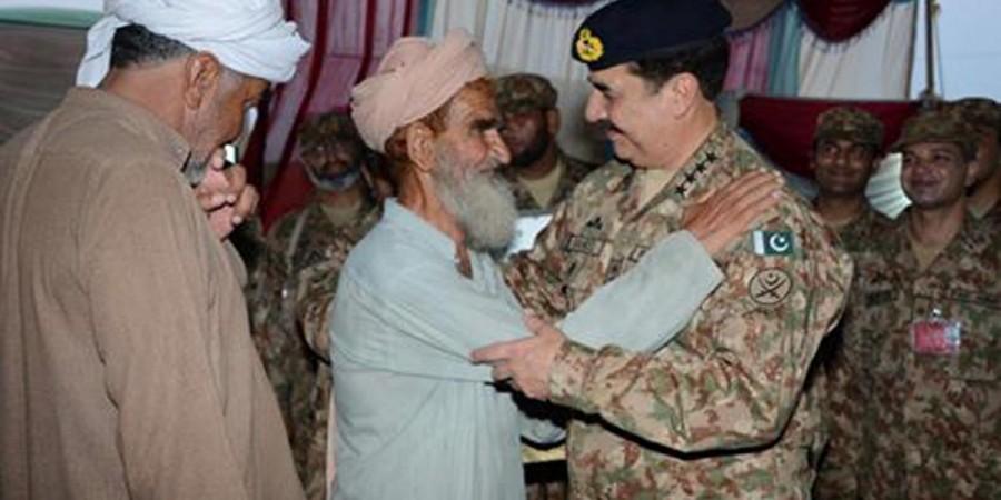 US Senators, COAS visit NWA to review Zerb-e-Azb