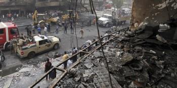 Suicide blast kills 10 in Baghdad