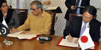 Takashi Kurai, Ambassador of Japan to Pakistan, Tariq Bajwa
