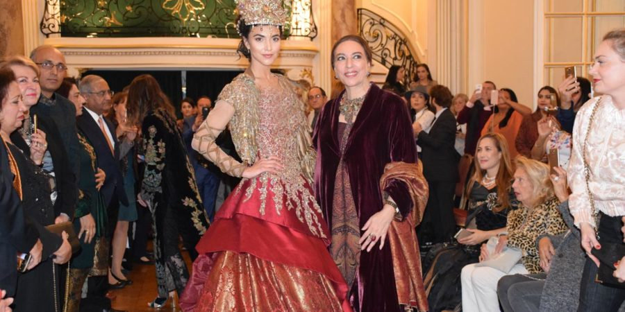 Fashion Show Held In Paris To Showcase Seven Decades Of Pak