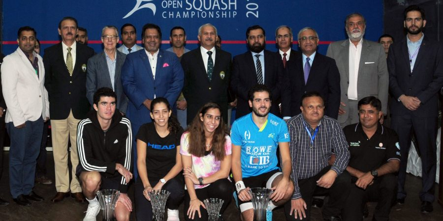 Egyptians clinch Pakistan Open Squash C'ship in both categories