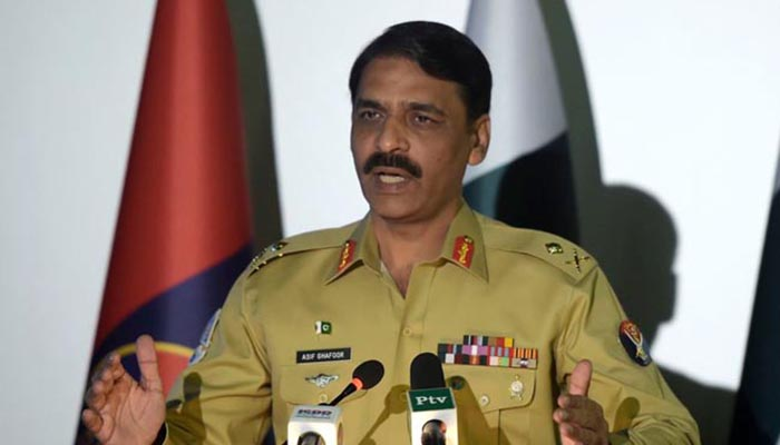 ISPR DG warns PTM not to cross limits