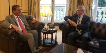 Former Prime Minister of Norway calls on FM Shah Mahmood Qureshi
