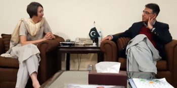 DFID Chief Economist visits Pakistan