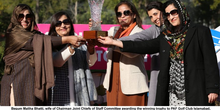 Af Golf Club Islamabad Won 1st Cas Ladies Invitational Golf Championship 2019 Dna News Agency