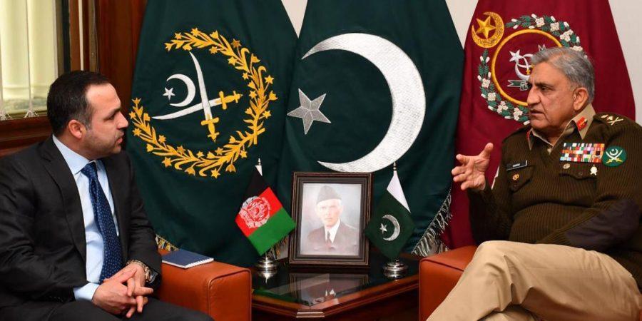 Afghanistan envoy meets COAS Gen. Bajwa at GHQ