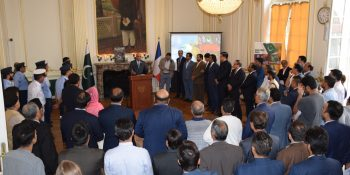 Pic Pak Community of France observed Defence Day in Solidarity with Kashmiri
