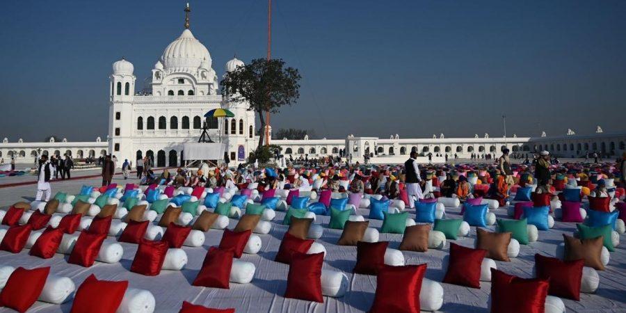 KARTARPURA, NOV 9: A view of Kartarpur Sahib ahead of formal inauguration. DNA