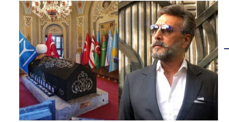 Adnan Siddiqui visits Ertugrul Ghazi's tomb in Turkey - DNA News Agency