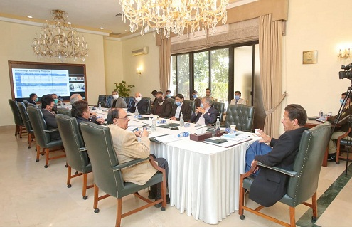 Prime Minister Imran Khan chairs meeting on Knowledge Economy at Islamabad on 21st January, 2021.