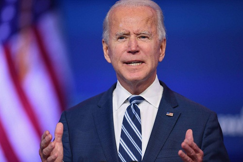 """(FILES) In this file photo taken on November 10, 2020 US President-elect Joe Biden delivers remarks at The Queen in Wilmington, Delaware. - After Donald Trump in his first week as president spoke to Australia's prime minister, leaks of  the call left many dumbfounded, with the new US leader haranguing and hanging up on the close ally. When Joe Biden spoke by phone Thursday with Prime Minister Scott Morrison, the president-elect's office said Biden hoped to work with him on """"many common challenges"""" and the Australian leader said he would forward a study on how his country fought Covid-19 through contact tracing. Following four years of presidential pique and chronic chaos in dealing with foreign leaders, Biden has already signaled a reversal -- he is making US diplomacy predictable, even dull, again. (Photo by Angela Weiss / AFP)"""
