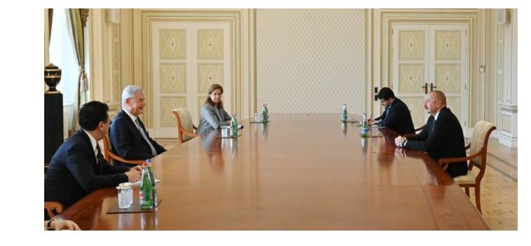 Azerbaijani president receives UN General Assembly head