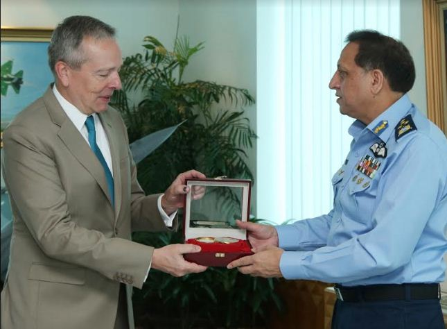 Ambassador of Czech Republic Tomas Smetanka calls on Air Chief