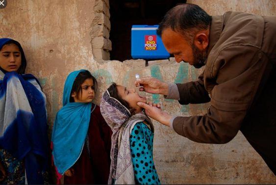 UNICEF support polio eradication in Pakistan: UNICEF