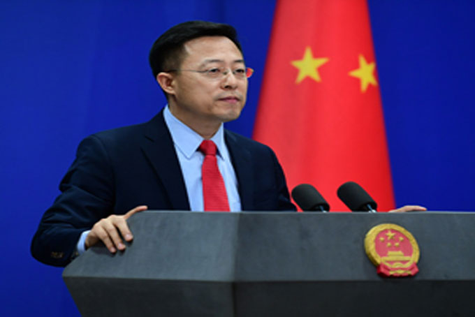 China to take necessary measures to safeguard Chinese firm's interests