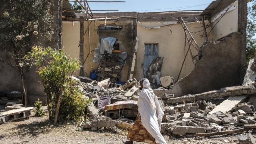 Air strike kills at least 43 in Ethiopia