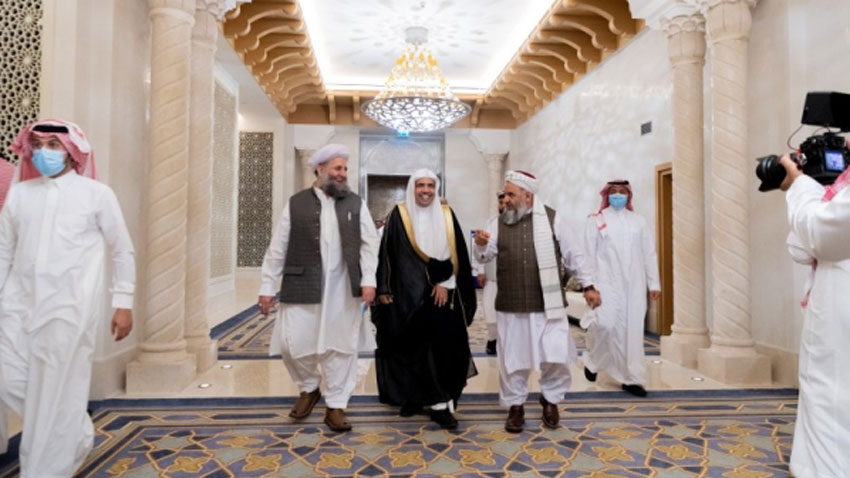 Senior Islamic scholars sign Afghan peace declaration in Makkah