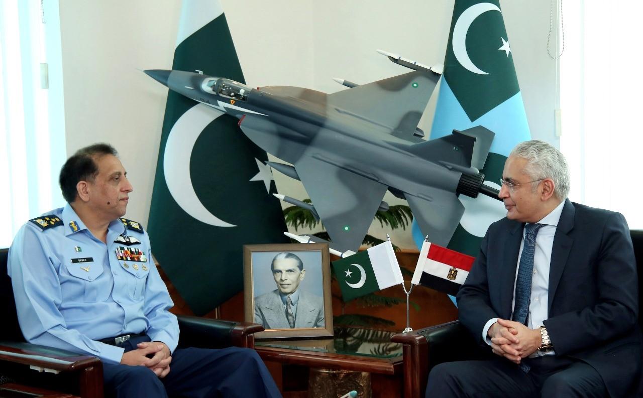 Ambassador of the Arab Republic of Egypt calls on Air Chief