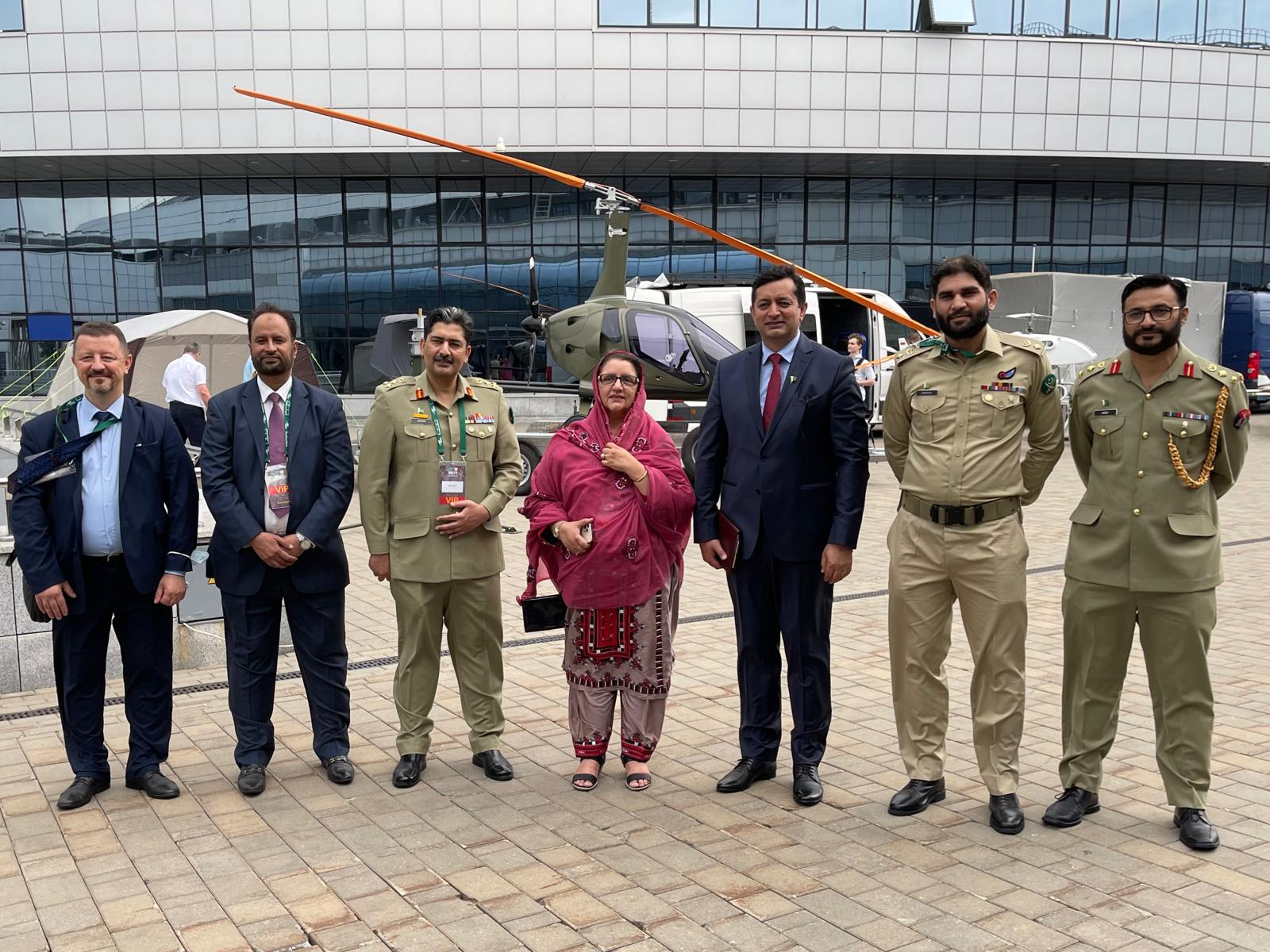 MoD Production of Pakistan meets her Belarusian counterpart