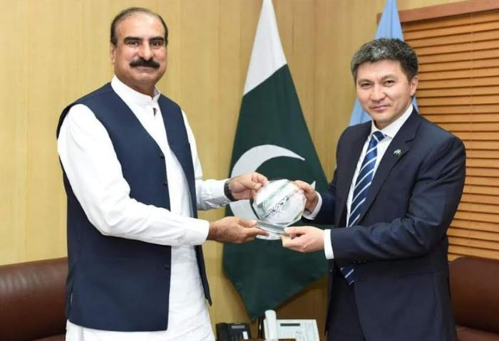 Ambassador of Kazakhstan visits NUML