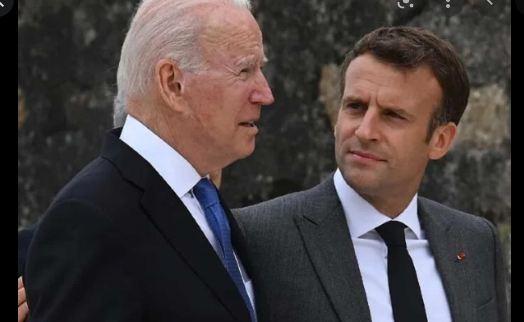 Macron walks domestic tightrope over US submarine deal