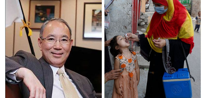 Japan continues to support anti-polio drive in Pakistan