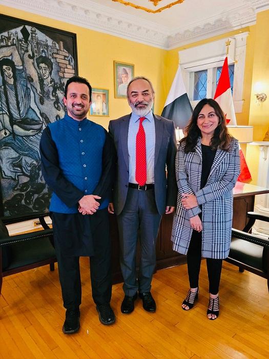 Rathore woos Pakistani diaspora in Canada for collaborations in education, tourism