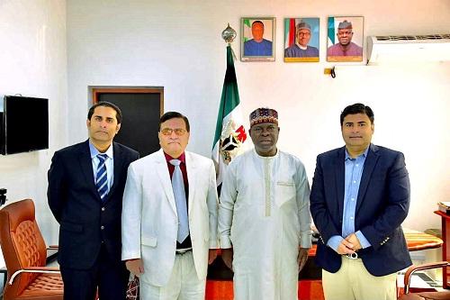 Nigerian envoy keen to increase trade volume with Pakistan