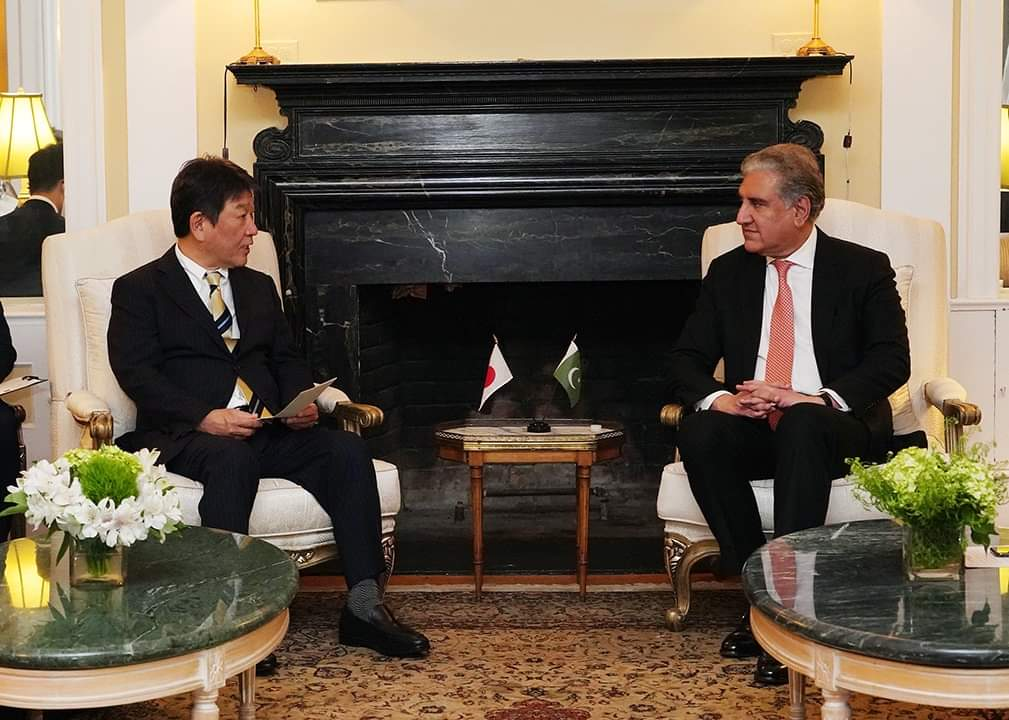 Japan a trusted partner of Pakistan, says Qureshi