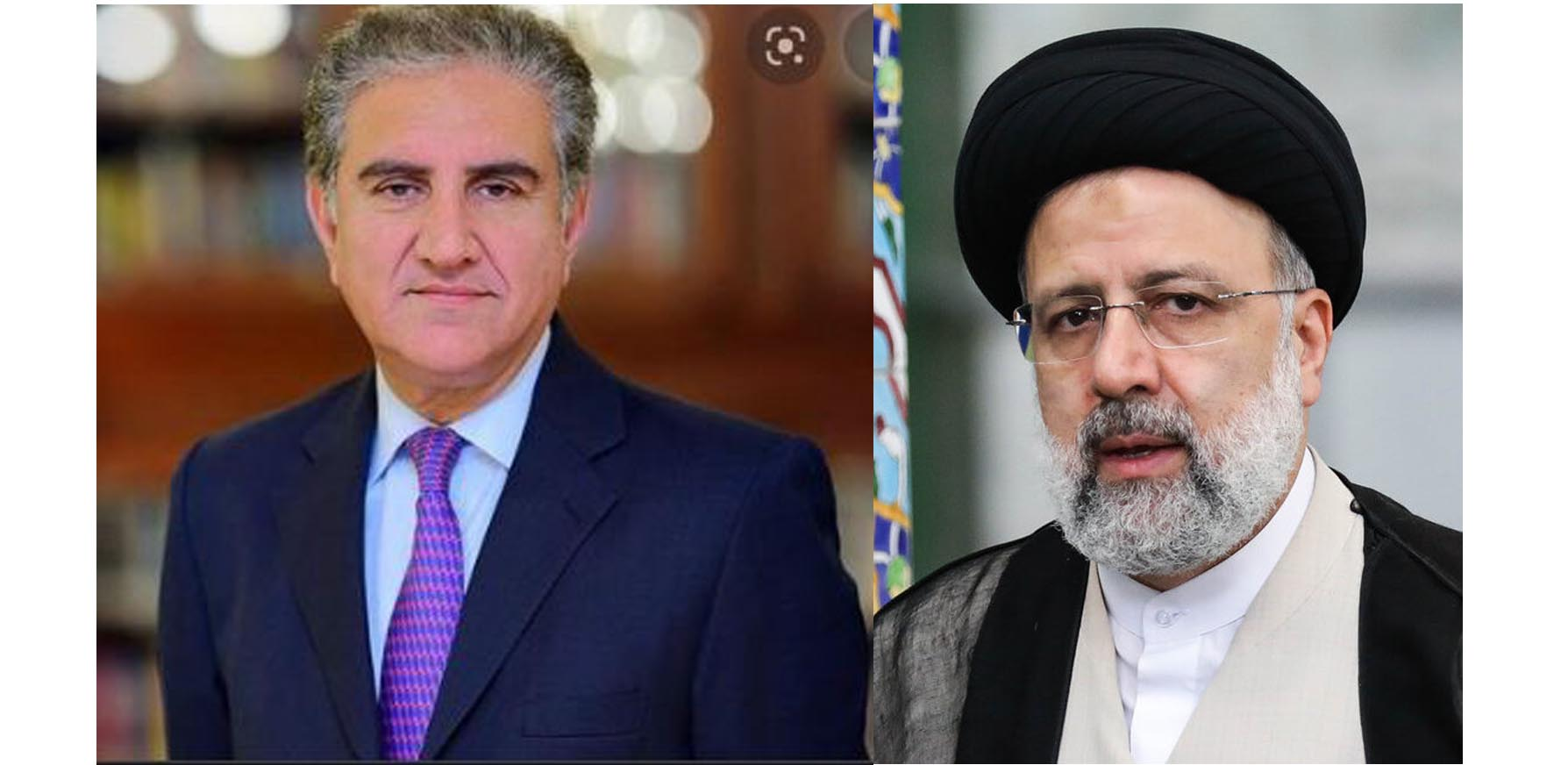 FM Qureshi thanks President Raisi for Iran's consistent support on Kashmir