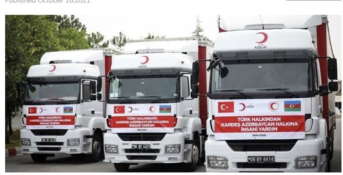 Turkish, Azerbaijani Red Crescents ink cooperation deal
