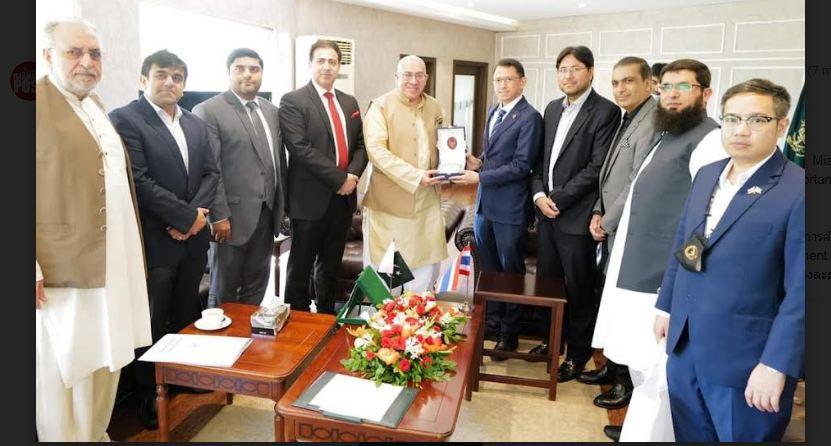 Chakkrid Krachaiwong visits LCCI