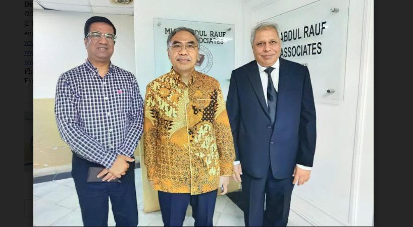 Indonesian envoy visits Eurasian Legal Framework Study Cell