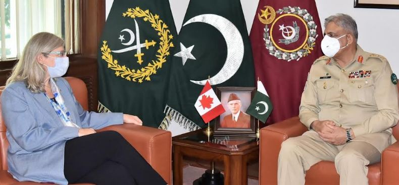 Canadian HC, COAS discuss bilateral cooperation in multiple fields