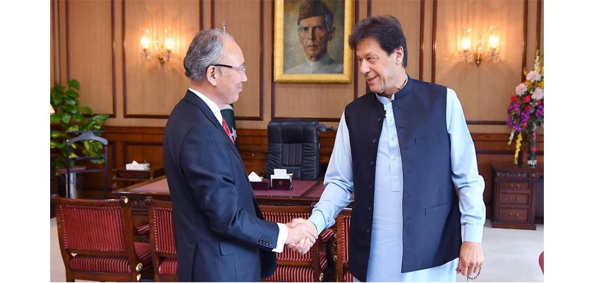 PM lauds Japanese ambassador's services for cementing bilateral ties with Pakistan