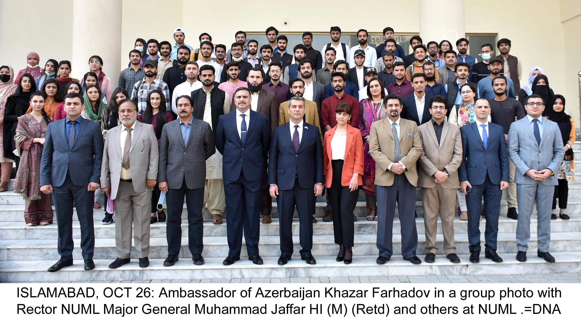 Azerbaijan ambassador visits NUML