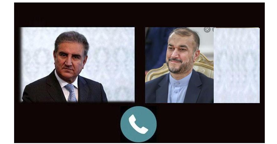 Pak, Iran FM's hold telephonic talk